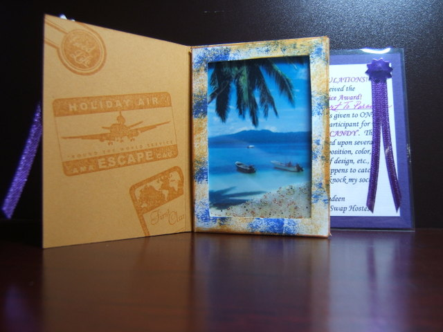 Passport to paradise - Inside