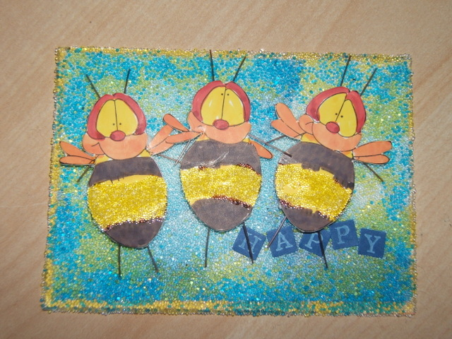 Bee Happy ATC