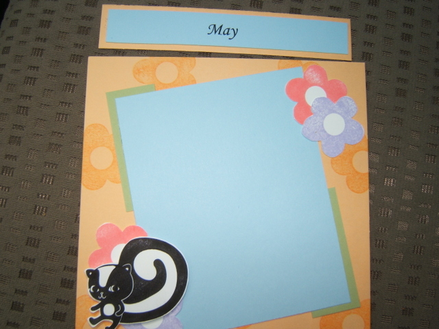 6x6 Scrapbook Swap - May