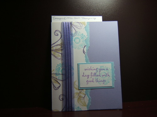 From Sue L (Sue4Stampin)